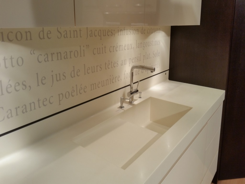Cuisine galaxie ateliers courtois sp cialiste cuisines bains am nagements dressings design - Credence corian ...