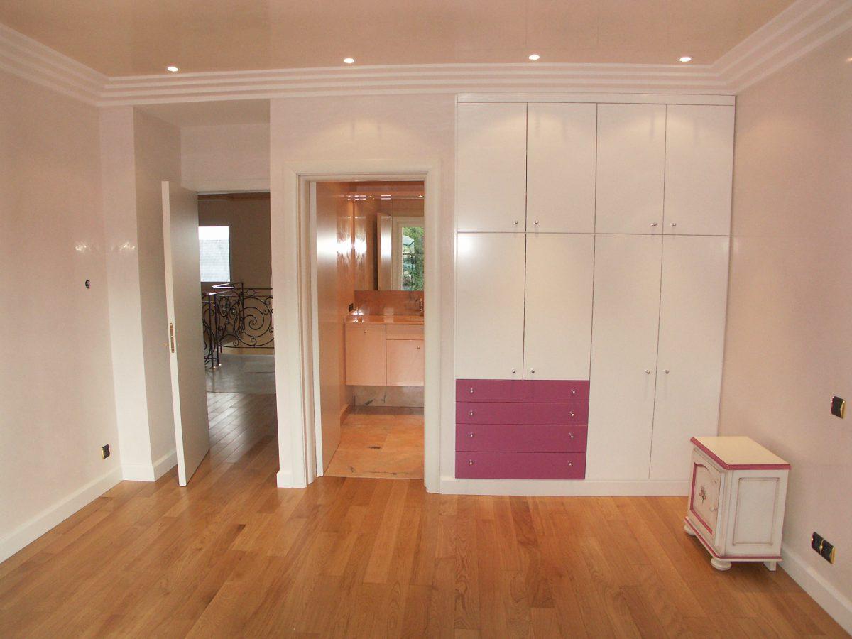 Deux dressings sol/plafond
