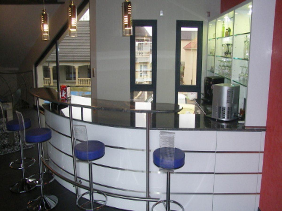 Bar pour salle de jeux