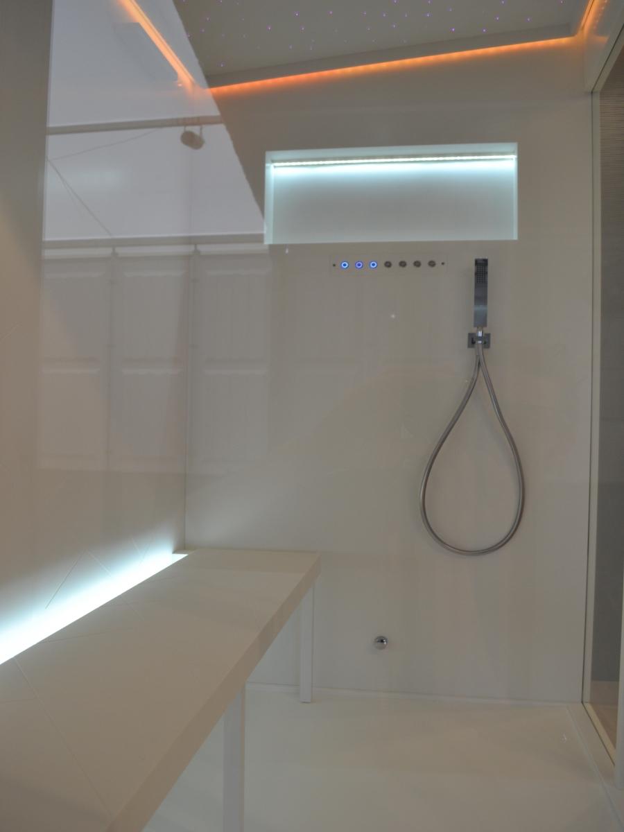Salle de bains : plan vasque, baignoire, hammam corian® – ateliers ...